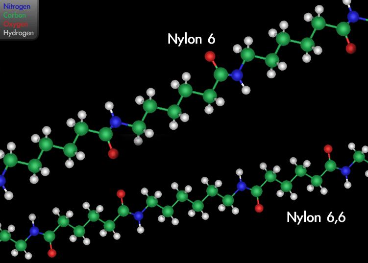 ساختار شیمیایی نایلون