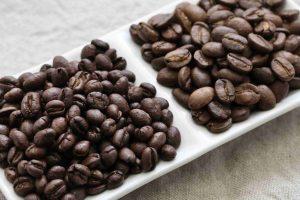 دانه قهوه روبوستا پیبی هند