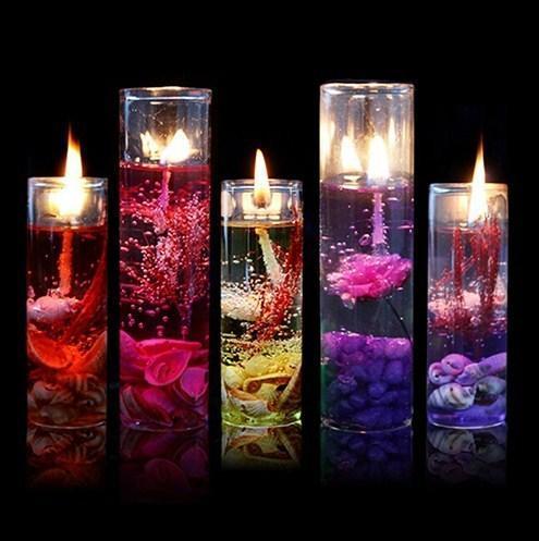 شمع ژله ای