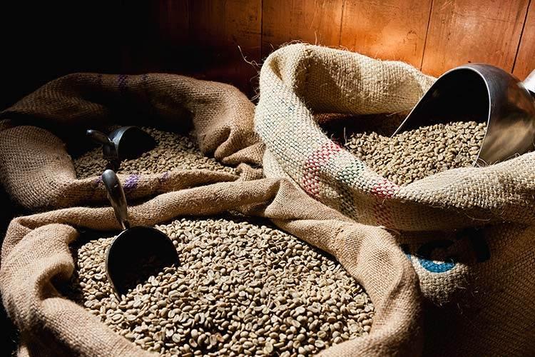 قهوه عربیکا پرو رست نشده