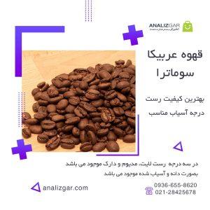 خرید قهوه عربیکا سوماترا اندونزی
