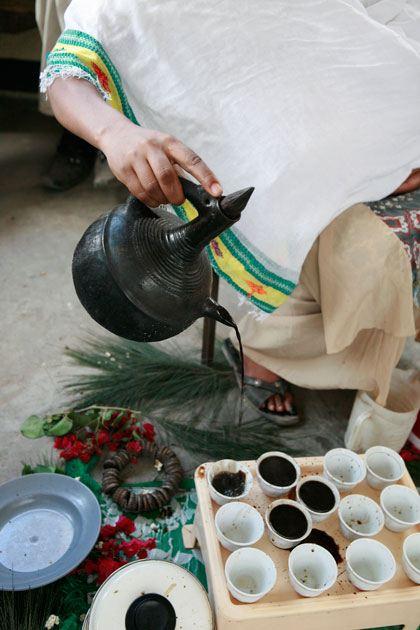 نوشیدن قهوه عربیکا اتیوپی