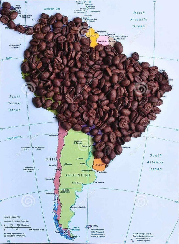 قهوه در آمریکا