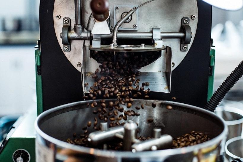 رست کردن قهوه