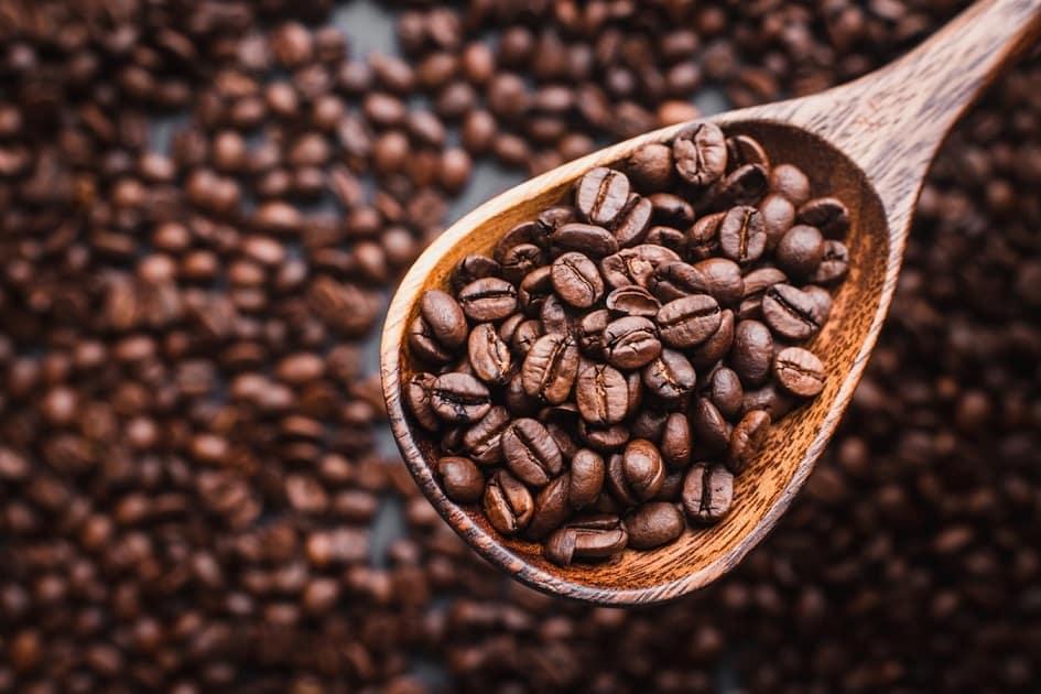 دانه قهوه روبوستا